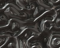 Organic Art Molten Metal Very Twisted Turbulence Stock Images