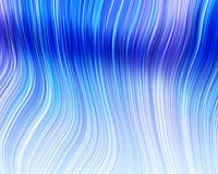 Organic Art Molten Plastic Soft Strands Light Blue Stock Image