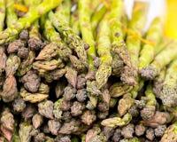 Organic Asparegus Bunches Stock Images