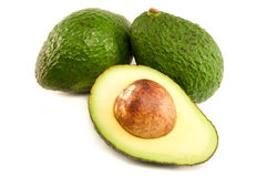 Organic Avocado Royalty Free Stock Photography