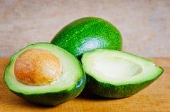 Organic avocados royalty free stock photography