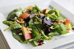 Organic Baby Spring Mix Salad Stacked Stock Photos