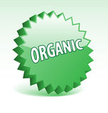 Organic badge. Stock Image