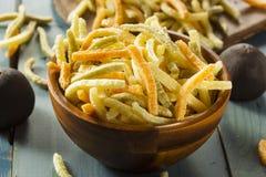 Organic Baked Veggie Straws. With Sea Salt Stock Images