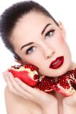 Organic beauty Stock Images