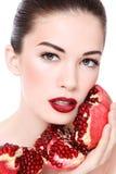 Organic beauty royalty free stock photo