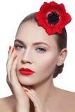 Organic beauty Royalty Free Stock Photos