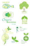 Organic&Bio vector collection Stock Images
