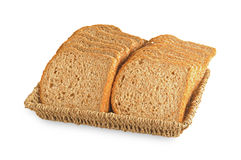 Organic black whole grain bread Stock Photography