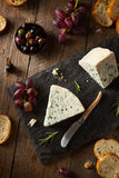 Organic Blue Cheese Wedge Royalty Free Stock Image