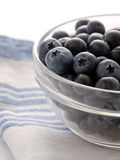 Organic blueberries. Ready to eat blueberries in a bowl Royalty Free Stock Image