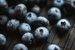 Organic blueberries. Fresh, tasty, organic raw blueberries Royalty Free Stock Photo