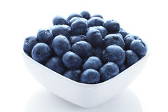Organic blueberries Stock Photography