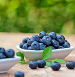 Organic blueberry Royalty Free Stock Photos