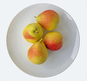 Organic Blush Pears Stock Photography