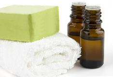 Organic body care Stock Photography