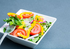Organic Bowl of Salad Royalty Free Stock Image