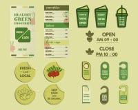Organic Brand Identity Stock Image