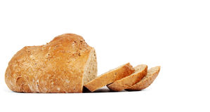 Organic bread with seeds Stock Images