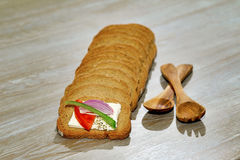 Organic bread Royalty Free Stock Images
