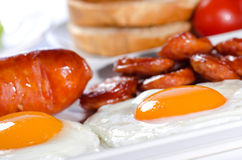 Organic breakfast Royalty Free Stock Image