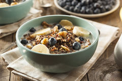 Organic Breakfast Quinoa with Nuts royalty free stock photography