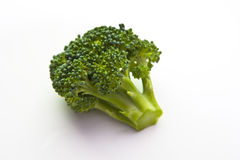 Organic Brocoli Floret Closeup Stock Photo