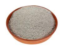 Organic Buckwheat Flour Dish Royalty Free Stock Image