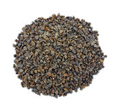 Organic buckwheat hulls Royalty Free Stock Photos