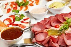 Organic buffet Stock Photo