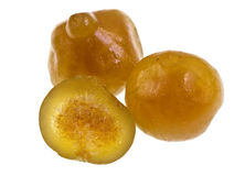 Organic Candied Figs Royalty Free Stock Photography