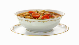 Organic Canned Vegetable Soup Stock Images