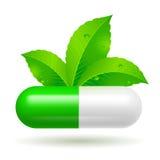 Organic capsule Stock Images