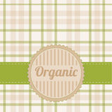 Organic card Stock Image
