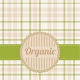 Organic card Stock Image