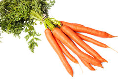 Organic carrots Royalty Free Stock Images