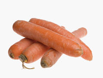 Organic carrots Royalty Free Stock Photography