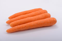 The organic carrots for health. Organic carrot for healthy and heart work Royalty Free Stock Photos