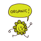 Organic character Stock Photos