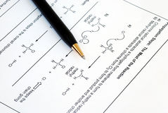Organic Chemistry Royalty Free Stock Images