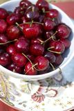 Organic Cherries Stock Images