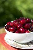 Organic Cherries Royalty Free Stock Image