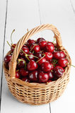 Organic Cherries Stock Photo
