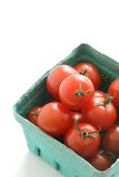 Organic cherry tomatoes Stock Images