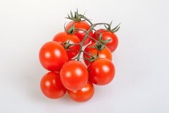 Organic cherry tomatoes Royalty Free Stock Image