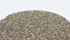 Organic Chia Seeds food & drink stock images