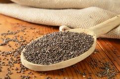 Organic chia seeds Royalty Free Stock Image