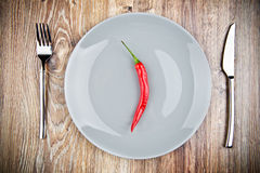 Organic chili pepper Royalty Free Stock Photos