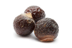 Organic Chinese soapberry or Reetha (Sapindus mukorossi) seeds. Royalty Free Stock Images