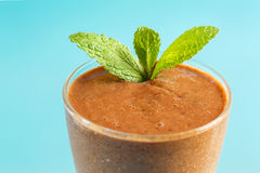 Organic Chocolate Smoothie Stock Images